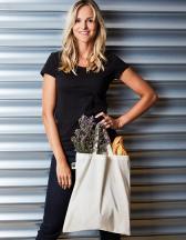 Cotton Bag, Fairtrade-Cotton, natural, short handles